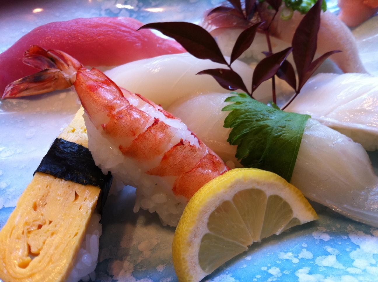 姫戸の寿司